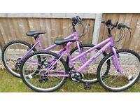 Girls/ladies bikes