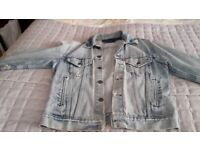 Genuine old Red Label Levi jacket over 30 years old