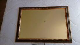 Vintage Mirror Green/Gold