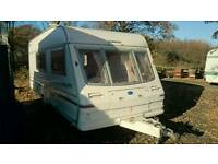 1998 Bailey 4-5 berth caravan with awning and fitted motormover