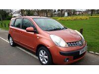 Low mileage Nissan Note 1.6 16v SE 5dr - 10 months MOT