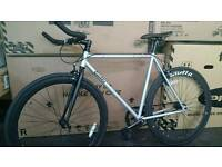 CHEAPEST GUARANTEED New Quella Kings Cambridge Design Single Speed Road Bike.