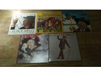 5 x george melly & john chilton's feetwarmers ( autographed vinyl LP's )