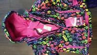 Brand new with tags girl's winter jacket and pants