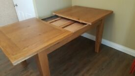Extendable Dining Table - solid wood.