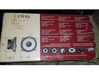 Infinity 552i car stereo speakers PRICE REDUCED