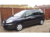 8 SEATER DIESEL, 2007 CITROEN C8, 1 YEAR MOT, 6 SPEED, ELECTRIC SLIDING DOORS, A/C, LOVELY CAR