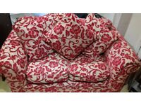 M&S two seat small sofa.