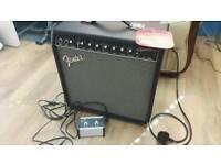Fender Champion 40w Amplifier c/w footswitch