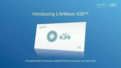 NEW IN BOX LifeWave X39™ sleeve with 30 patches - Free Shipping