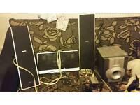 Stereo system setup