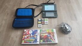 Nintendo 3ds XL with case and a few games. New Style. Immaculate condition. Fareham