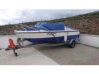 Cabin Crusier Fishing Boat (FOGGY.DEW)