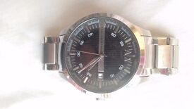 Genuine Men's Armani Exchange AX2103 Stainless Steel 5 ATM 121410 Watch