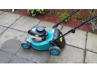 Makita petrol lawnmower