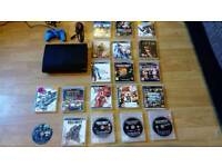 PS3 Super slim with 19 games