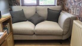 Nearly new two seater Zuri sofa