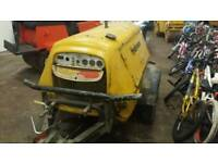Diesel Air Compressor Road Tow Type In Good Working Order