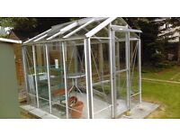 Greenhouse 8ftx6ftx7ft intact and excellent condition