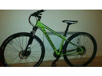 Cannondale 2015 Lime Green