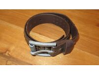 Superdry Leather Belt - Size small
