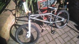 Bmx,360' front brake for tricks,good condition. Son has a new bike so no longer used