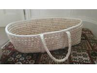 Moses basket without covers