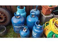 calor gas bottles + 2 macgas