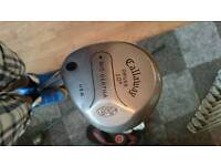 Callaway 3 wood and 10' driver left handed