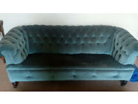 Beautiful victorian chesterfield sofa