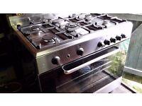 Baumatic gas range oven