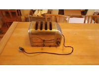 Fully working dualit 4 slice toaster
