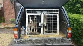 Dog cage for pick up