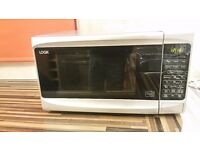 Microwave oven - grey - conventional, grill and microwave all in one
