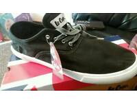 Lee cooper canvas trainers. Size 10