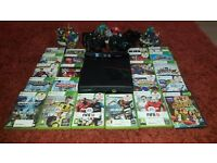 FANTASTIC XBOX 360 BUNDLE-COMES WITH EVERYTHING YOU NEED TO START GAMING