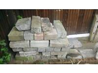Free hardcore / Bricks from garden wall.