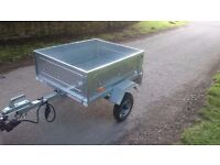 Galavanised Maypole Tipping Trailer in great condition