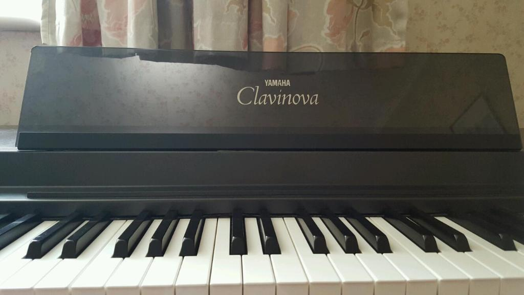 yamaha clavinova clp 50 electric piano digital keyboard. Black Bedroom Furniture Sets. Home Design Ideas