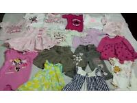 Baby girls bundle. 6-9