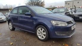 VW POLO 1.4 SE 3 DOOR 2010 / TIMING BELT DONE / FULL SERVICE HISTORY / 2 KEEPERS / HPI CLEAR /2 KEYS