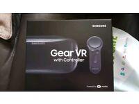 Samsung 2017 VR Gear glasses with remote contro