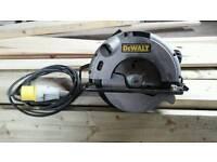 DeWALT skilsaw 110 vol. D-62mm.