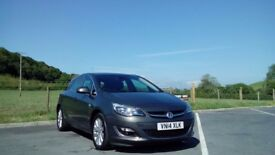 VAUXHALL ASTRA ELITE 2.0CDTi ECOFLEX, 2014, 5 DOOR HATCHBACK, ASTEROID GREY