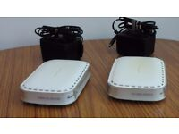 Netgear Cable/DSL Router & 10/100M Switch and a Belkin Wireless G Router