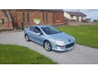 04 REG PEUGEOT 407 2.0 HDI SE LUXURY PACK 89K-MILES MOT-18 OUTSTANDING FREE-DELIVERY VERY CHEAP CAR