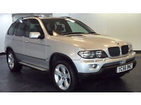 2006 56 BMW X5 3.0 D SPORT 5D AUTO 215 BHP DIESEL*PART EX WELCOME*FINANCE AVAILABLE*WARRANTY
