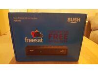 BUSH Freesat HD set top box, as new, in box, never used, £20