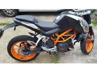"""KTM 390 Duke, immaculate condition, fantastic runner, ultra reliable!"