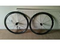 Trek Bontrager SSR Road wheels with Continental Grand Prix tyres